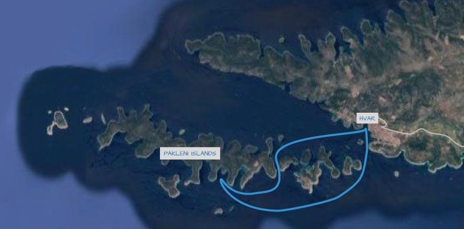 pakleni islands and hvar